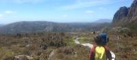 A family walking in the Cradle Mountain National Park | Ashton Sayer