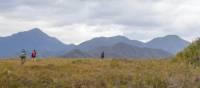 Trekking towards the Ironbound ranges on the South Coast Track in Tasmania | John Dalton