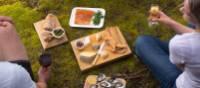 Picnic lunch on Bruny Island Walk