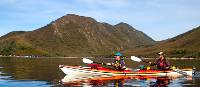 Kayaking in the Port Davey wilderness