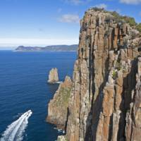 Cape Hauy with Cape Pillar beyond   Andrew Bain