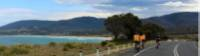 Cycling along the Tasmanian east coast |  <i>Oscar Bedford</i>