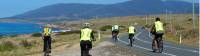 Cycling group in Tasmania |  <i>Leanne Atwal</i>