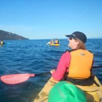 Kayaking on Coles Bay | Brian Dodson