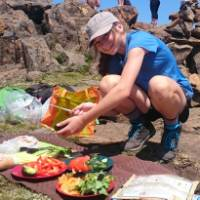Making lunch on top of Cradle Mountain | Oscar Bedford