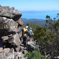 Descending Mt Maria   Brian Dodson