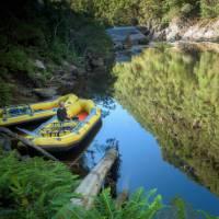 Rafts and reflections on Tasmania's Franklin River   Glenn Walker