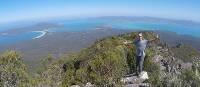 Happy trekker on top of Mt Maria | Brad Atwal