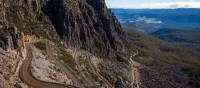 Enjoy switch backs, hairpin bends, gravel roads and even some single tracks on Jacob's Ladder | Tourism Tasmania and Rob Burnett