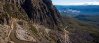 Enjoy switch backs, hairpin bends, gravel roads and even some single tracks on Jacob's Ladder |  <i>Tourism Tasmania and Rob Burnett</i>