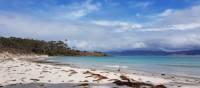 Enjoy a walk along Maria Island's Four Mile Beach | Shelby Pinkerton