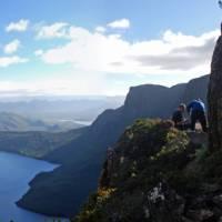 Scrambling amongst the high peaks of Mount Lot | Chris Buykx