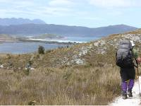 Trekking in remote wilderness along the South Coast Track in Tasmania |  <i>Phil Wyndham</i>