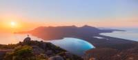 Vibrant sunrise at Wineglass Bay |  <i>Daniel Tran</i>