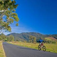 Cycling through the Tasmanian countryside near St Helens | Andrew Bain
