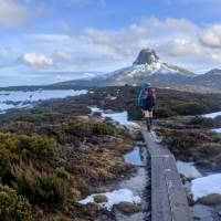 Walking The Overland Track in Winter   Nom Blaskhi