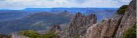 The view from the top of Tasmania, Mt Ossa 1617m |  <i>Mark Whitelock -</i>
