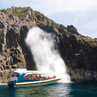 Exploring this rugged coast by boat reveals a stunning wilderness experience