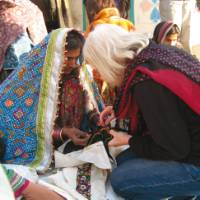 Textiles in India on the Textiles of Gujarat trip | Barbara Mullan