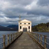 A room with a view at the luxury Pumphouse Point, Lake St Clair   Richard I'Anson