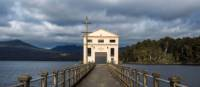 A room with a view at the luxury Pumphouse Point, Lake St Clair | Richard I'Anson