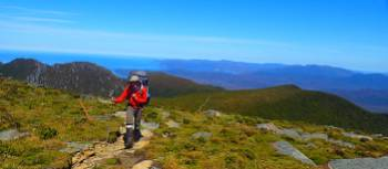 Atop of the Ironbounds on a perfect Tasmanian day | Will Barker